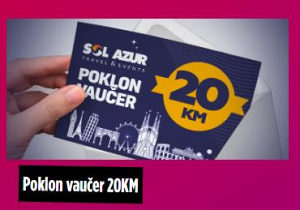 Sol azur kupon 20 40 60 80 100 KM