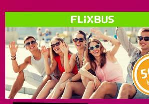Flixbus kupon 5 KM