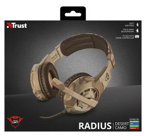 Trust GXT 310D Radius Gaming - Headset -