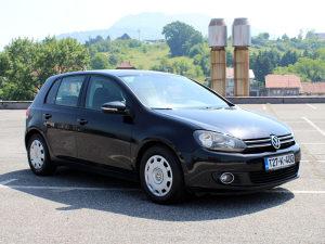 Volkswagen Golf 6 2.0 TDI 81 kW, REGISTROVAN
