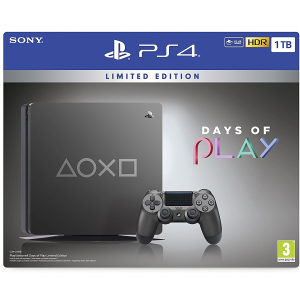 PlayStation 4 1TB Days of Play Steel Black Special Ed.