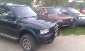Opel frontera land rover  off road  4x4