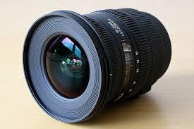 Sigma 10-20 mm Canon