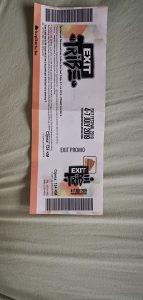 Karta za EXIT 4 DANA