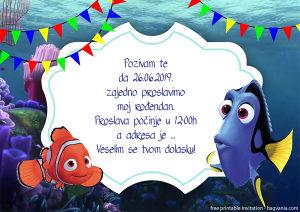 Rođendanske pozivnice DISNEY
