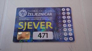Ulaznice/Karte FK Željezničar kolekcija