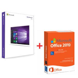 WINDOWS 10 PRO + MS Office Pro 2019 ORIGINALNE LICENCE