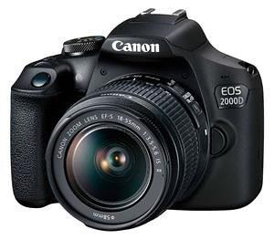 CANON Fotoaparat EOS 2000D BK 18-55 IS
