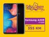 SAMSUNG A20E / 3GB RAM  / 32GB ROM / DUAL SIM
