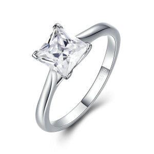 Ženski prsten 100 % srebro pečat 925 br. 6