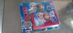 Satovi rucni sat Frozen sa novcanikom