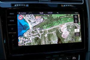 KARTE MAPE VW GOLF 7 VII PASSAT