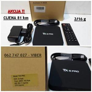 Android TV box - Tanix TX5 - PRO - 2/16 gb