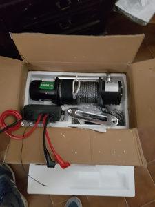 Vitlo Elektricno 12 V snaga 6500 kg (uvoz iz Amerike)