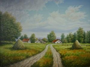 Umjetnička slika - Poslije kiše