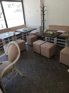 Klupe i stolovi za radnju
