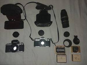 Stari Fotoaparati Canon & Nikon