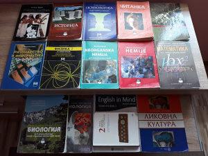 Knjige za 2. razred gimnazije, opšti smjer