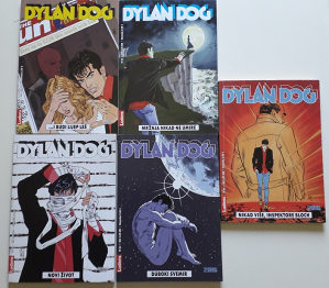 Dylan Dog Ludens 151, 152, 156, 164, 165