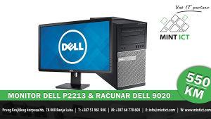 """Računar Dell 9020 & Monitor Dell 22"""""""