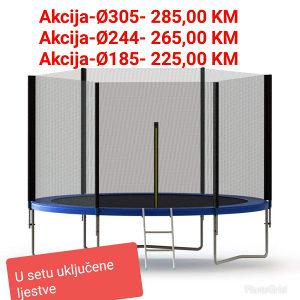 Trampolina-Ø244- Akcija-samo 265 KM -065/931-184