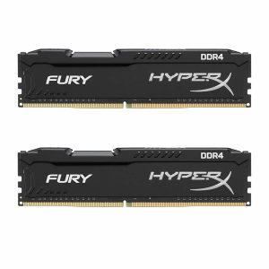 HyperX Fury 16GB DDR4 2666MHz DIMM Ram 2x 8GB memorija