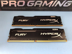 Kingston HyperX Fury Black 8GB DDR4 2933MHz