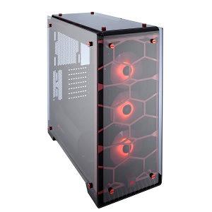 Corsair Crystal 570X RGB Red ATX Mid-Tower