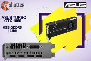 ASUS Turbo GeForce® GTX 1060 6GB GDDR5