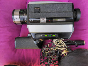 Bauer C8 8mm kamera