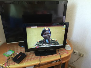 Lcd tv gran prix 22 incha dvbt hdmi