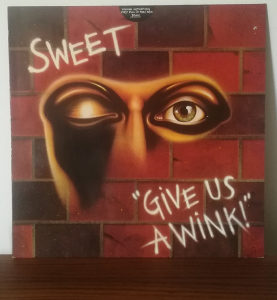 The Sweet ‎- Give Us A Wink LP