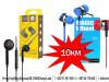 Slušalice bubice više modela - 10KM