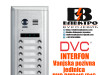 Interfon DVC vanjska pozivna jedinica sa 16 tipki IP43