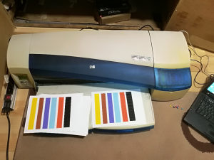 HP DesignJet 120, printer, ploter, plotter, A1 format
