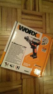 Aku odvijac Aku impact worx 20v max