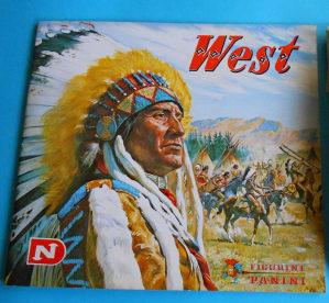 Slicice West Panini - Decje novine 1976 - razmjena