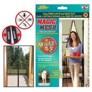 Mreža za vrata sa magnetima 210x100 cm