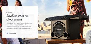 Sony BLUETOOTH ZVUCNIK GTK-PG10 bezicni GTKPG10