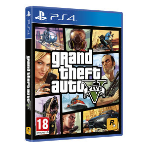Grand Theft Auto V (PlayStation 4 PS4) GTA 5