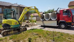 Građevinski radovi, iskopi