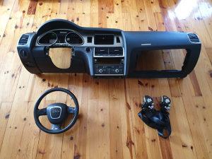 Komplet airbag tabla Audi Q7 4L 2006-2012 god volana, p