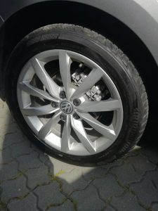 VW GOLF FELGE SA GUMAMA DIJON 17''   BRIDGESTONE