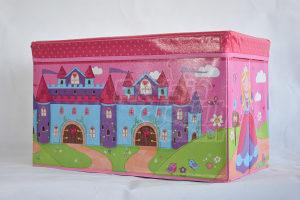 Djecija kutija za igracke i fotelja za djecu 2u1