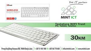 Tastatura Wi-Fi Trust / Tablet / PC/ Telefon