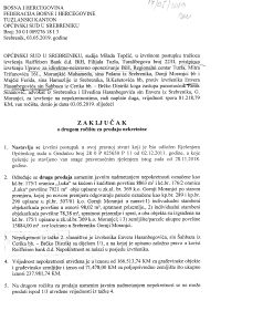 Prodaja kuce i oranice u Gornjim Moranjcima - Srebrenik