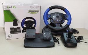 Gaming volan 3u1, PS2/PS3/PC, vibracija, pedale WH300