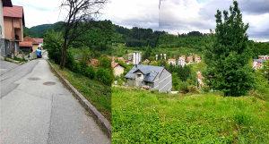 Građevinska parcela u Vogošći - 1800 m2