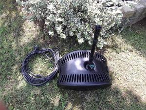 Pumpa za fontanu sa filterom i prskalicom