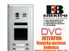 Interfon DVC vanjska pozivna jedinica sa 8 tipki IP43